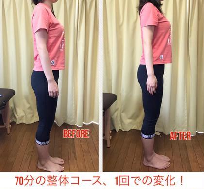 【新規限定】全身整体70分 身体の不調、姿勢を根本改善!