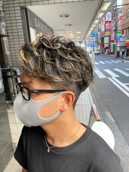 【平日限定】ブリーチ込みハイライトモデル