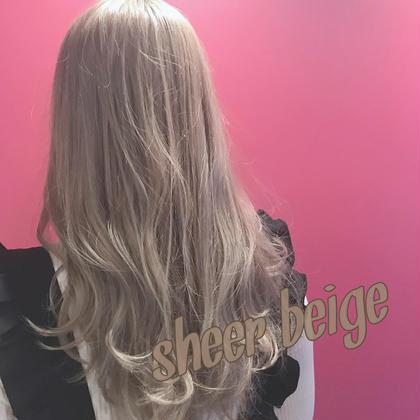 🌈初回限定🌈前髪カット+オシャレ度💯ブリーチ&外国人風カラー+極上3stepトリートメント