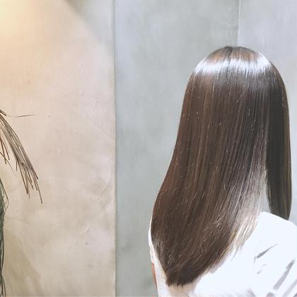 セミロング oggimttoトリートメントとメンテナンスカットで、地毛でも艶々な健康は髪へ