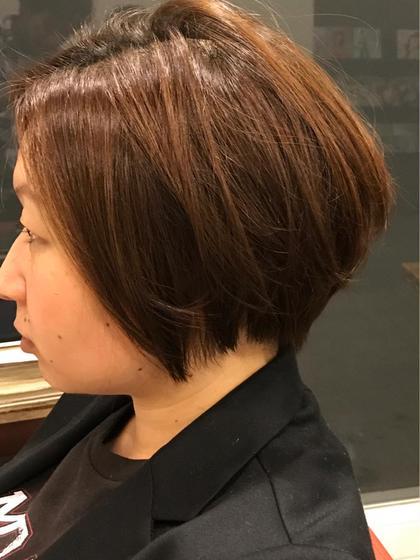 ショートスタイル mu;d&latte所属・金子英治のスタイル