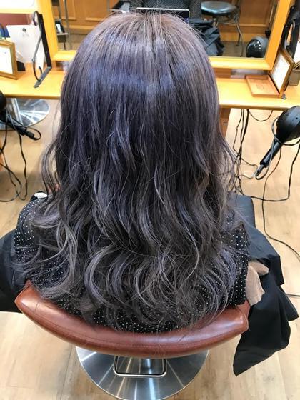 アディクシーのシルバーとアメジスト✨ シャンティー琴似店所属・高田沙貴のスタイル