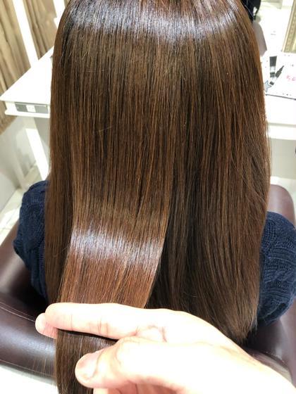 髪質改善縮毛矯正👩🏻✨クセをのばすだけでなく髪質も良くしていきます✨