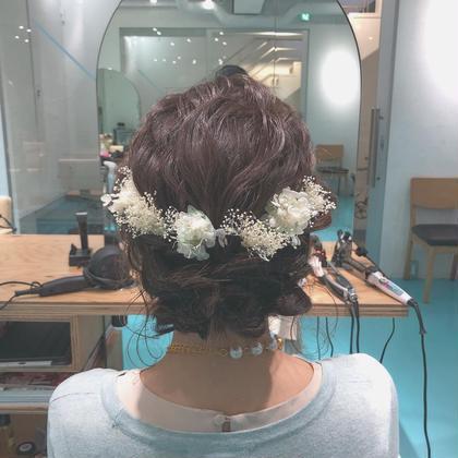 ♡ 結婚式やパーティーに cuteなヘアセット ♡