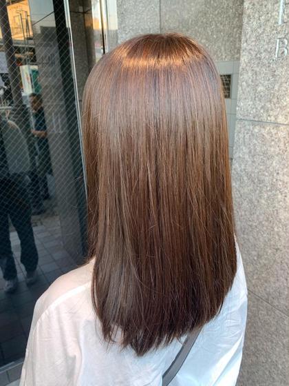 【🌟19〜21歳限定🌟】黒髪卒業カラー&カット&艶トリートメント