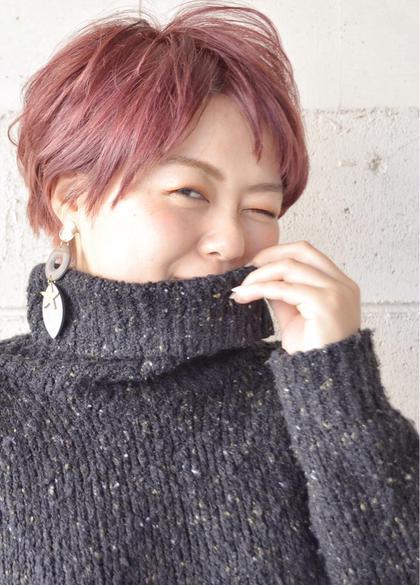 hair&nail FUNTAS所属・大山慎矢のスタイル