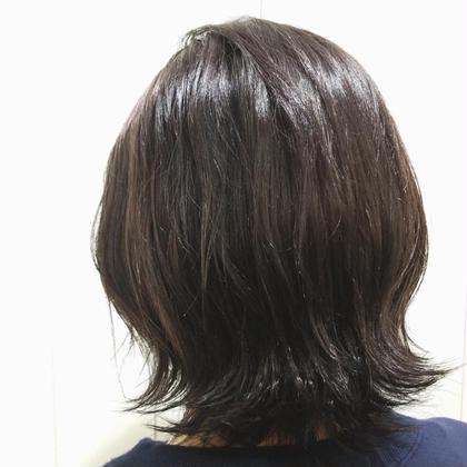 knot hair&products所属・佐藤晶帆のスタイル