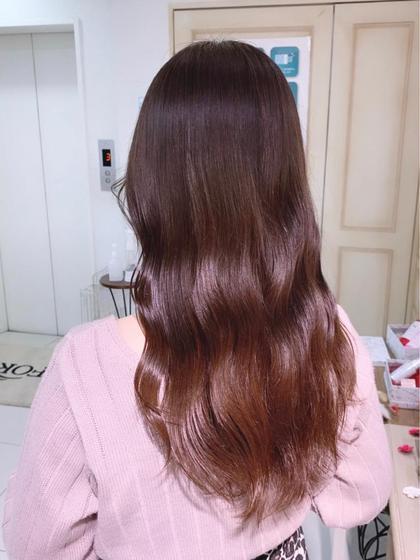 【✨人気No.2✨】《🤎全体カラー🧸》髪質改善トリートメント付き❤︎大人気チョコレートカラーetc