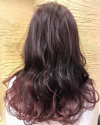 バイオレットグラデ hairbrand b-arts所属・マネージャー歴12年MARIのスタイル
