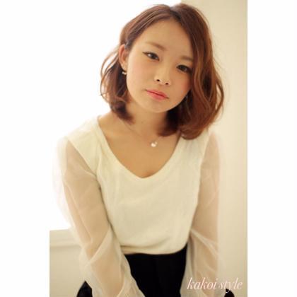 Hair & Make NYNY河原町三条店所属・カコイタカユキのスタイル