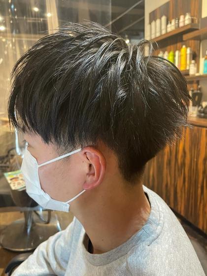 🙆♂️メンズ限定🙆♂️カット+前髪縮毛+炭酸ヘッドスパ(10分)orトリートメント✂︎似合わせカット✂︎