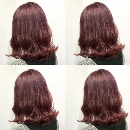 💗1ブリーチ✖️パープル系➕髪質に合わせたシャンプー➕8stepハホニコオリジナルさら艶トリートメント💗