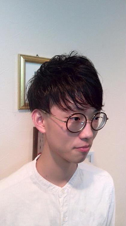 ツーブロックマッシュ hair de parusa 所属・小澤直幸のスタイル
