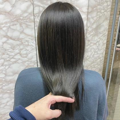 🥇オススメ🥇【イルミナカラー】+【髪質改善酸熱トリートメント】