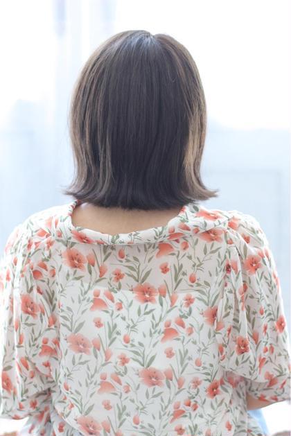 カット+縮毛矯正+トリートメント