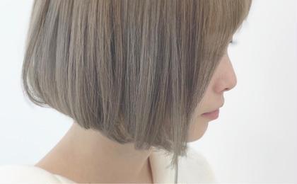 🔻【人気No.2】カット+ダブルカラー+オージュアトリートメント🔻