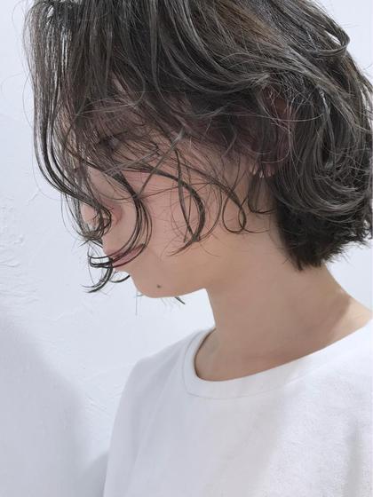 🌈❤️💜カット➕外国人風ハイライト➕ダメージレスカラー➕髪質改善トリートメント❤️💜🌈