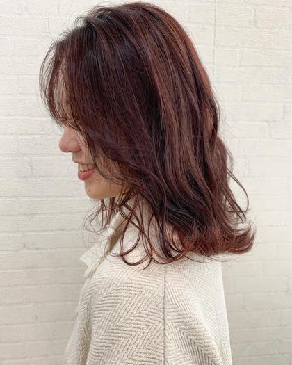 【💘平日限定💘】ヘアカラー➕前髪カット
