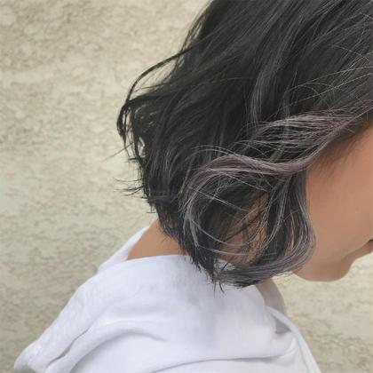💜カット+カラー+インナーカラー+色持ちトリートメント+プチスパ