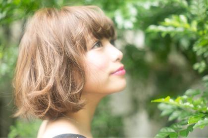 ボブにパーマを⭐︎ Gigi所属・majigのスタイル