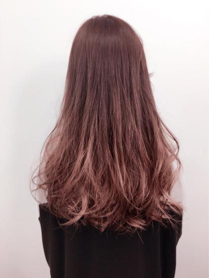 グラデーション3Dカラーです! kaminomori -International Hair Concepts-所属・高橋優希のスタイル