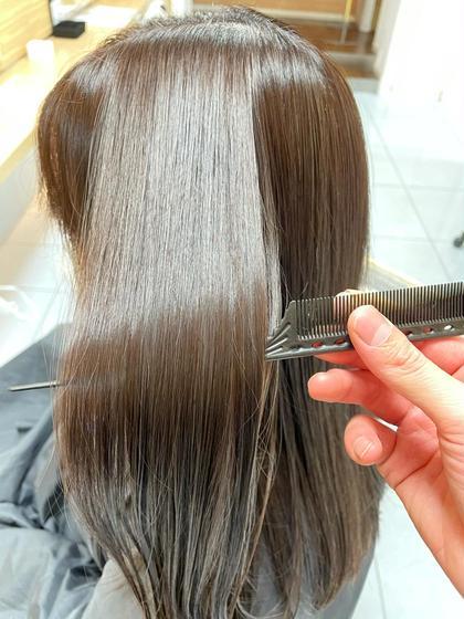 ✨1日一名限定✨髪質改善カラー×髪質改善縮毛×超音波トリートメント