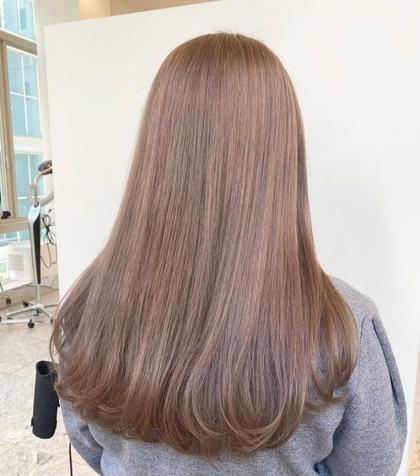 💖黒染め除去💖ブリーチ+カラー+トリートメント!ムラなくなりたい髪色に✨