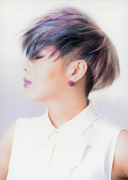 日本2位になった作品です♪ カラーもお任せください♪ sub aoyama所属・クリエイティブディレクター 店長のスタイル