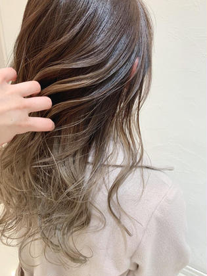 🌈❤️💜カット➕外国人風グラテーションカラー➕髪質改善トリートメント❤️💜🌈