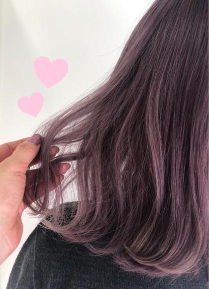 ♡ 絶対可愛い透明感ピンクヘア ♡