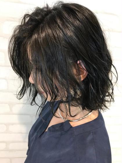 ⭐︎【黒染めみたいなカラー】⭐︎濃厚アッシュカラー❣️
