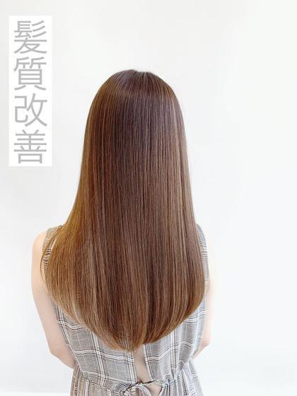 【💝時間もかからず、必ず綺麗な髪になる💝】🌈イルミナカラー+髪質改善トリートメント🌈¥21160→¥8800