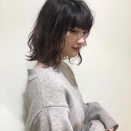 【梅雨クーポン】❤️カット & ポイント縮毛矯正🌧&シルクトリートメント