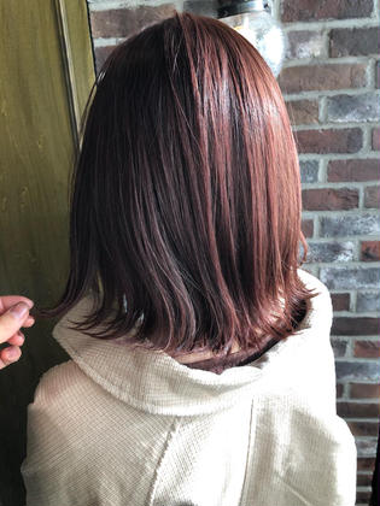 【4回目以降の方はこちら】カット & カラー & 艶髪トリートメント