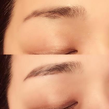 ワックスにより産毛をしっかり処理することで薄いところでもラインを出すことが出来ます!眉のお悩みはそれぞれなので何でもご相談下さい!