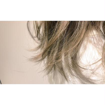 ハイトーン、グラデーション、インナーカラー得意です apish ginza所属・寺田龍摩のスタイル