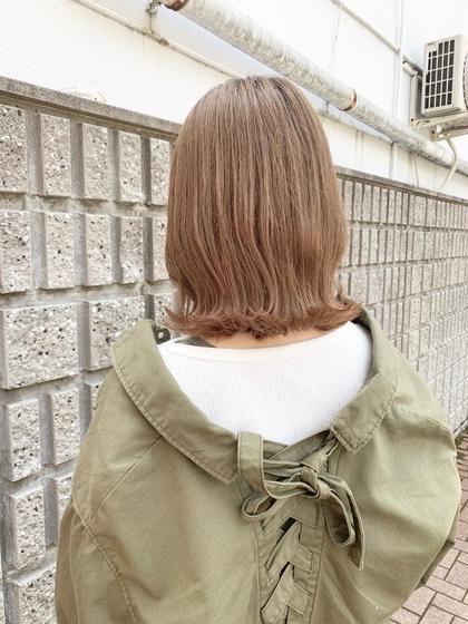 ✨前髪カット & ダメージレス!透明感のイルミナカラー✨