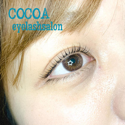 eyelashsaloncocoa所属の晩田佳奈のマツエクデザイン