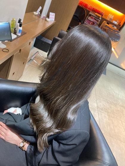 【綺麗なツヤ髪に】カラー+オージュア2stepトリートメント