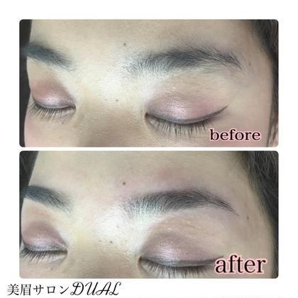 スッピン眉毛がこんなに綺麗に☆ 眉毛サロンDUAL 恵比寿所属・松本ゆう子のスタイル