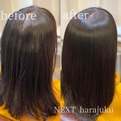 ꫛꫀꪝ❣️【梅雨前必見】ダメージ毛、ブリーチ毛でもできる!ケアストレート×ダメージレスcut