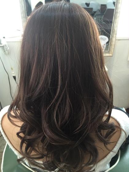 ハイライトカラー hair salon dot. tokyo所属・カヤノトシノリのスタイル