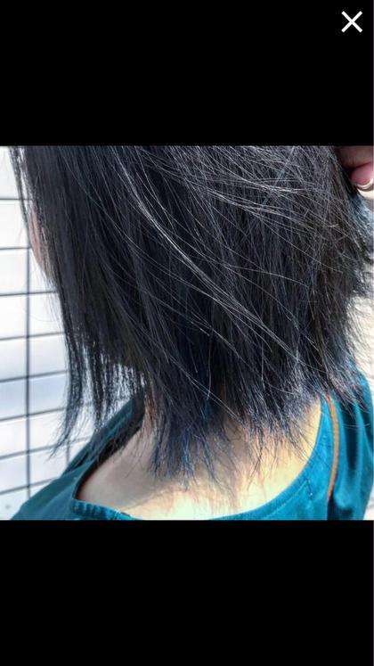 【大人気】カット+カラー+アロマシャンプー前処理トリートメント¥4320