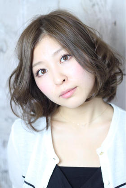 <肌・髪に優しい白髪染め>カット+オーガニック白髪染め+ 炭酸泉¥10500