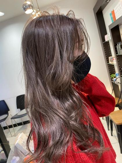 新メニュー!髪質改善カラー!