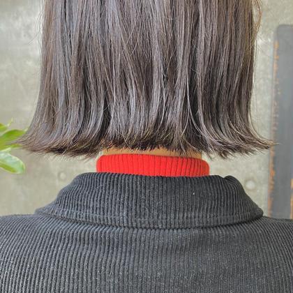 【人気🥇】カット+シアーカラー+炭酸スパ+高濃度トリートメント