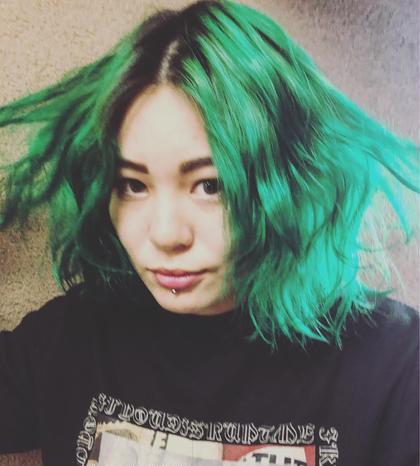 その他 カラー キッズ ネイル パーマ ヘアアレンジ マツエク・マツパ ミディアム メンズ 派手髪好きに外国人風