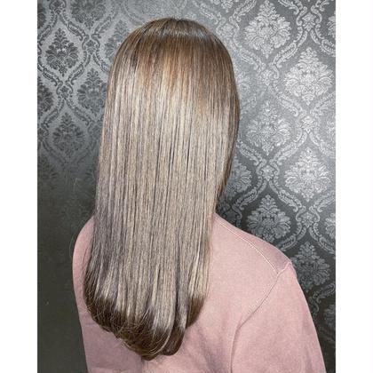 💝minimo限定特別価格💝前髪カット+フルカラー+トリートメント