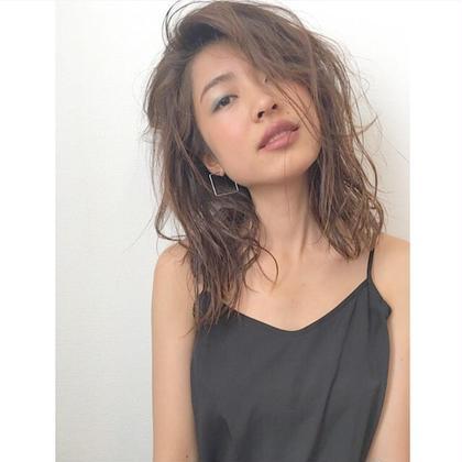 大人可愛いウエッティヘア♡ marju ginza所属・齊藤実依のスタイル