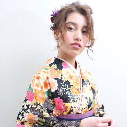 ✨【卒業式】袴着付け&ヘアセット&メイク